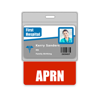 APRN Badge Buddy Horizontal Oversized
