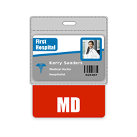 MD Badge Buddy Horizontal Oversized