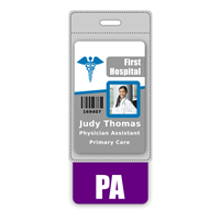 PA Badge Buddy Vertical Oversized