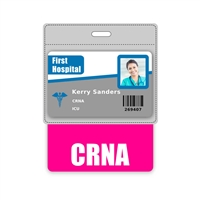 CRNA Badge Buddy Horizontal Oversized
