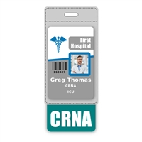 CRNA Badge Buddy Vertical Oversized