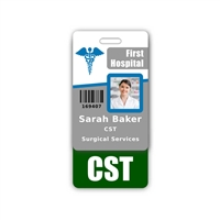 CST Badge Buddy Vertical Standard Size