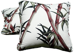 Bamboo Forest Decorative Pillow