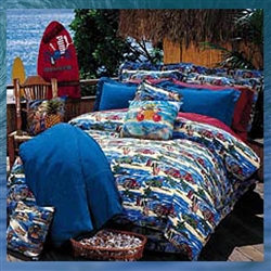 Diamond Head Days Comforter Set