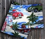 Diamond Head Days Pillowcase