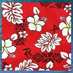 Hibiscus Bed Skirt