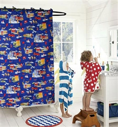 Firemen Shower Curtain