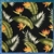 Black Birds of Paradise Duvet Cover