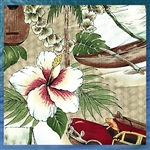 Tropical Island Bedding Comforter