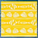 Outdoor Caicos Pineapple Throw Pillow