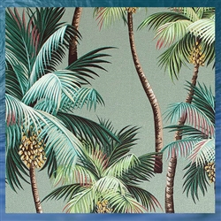 Palm Tree Fleece Blanket
