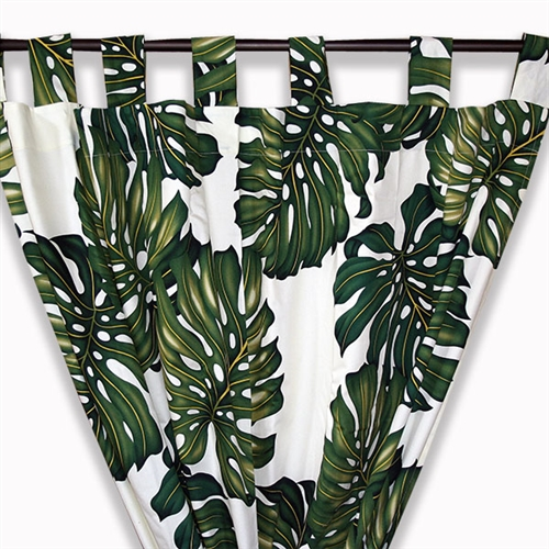 Marvelous Palm Tree Curtains