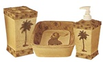Palm Tree Bath Set