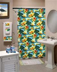 Paradise Abound Shower Curtain