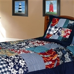 Hawaiian Patchwork Sham