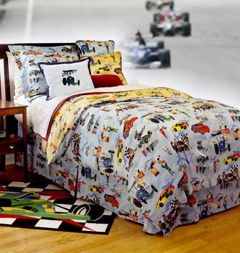 Race Car Bedroom   deanmillerprints.com