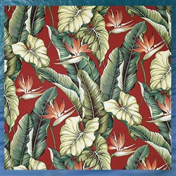 Birds of Paradise Window Panel