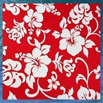 Red Hibiscus Pillowcase