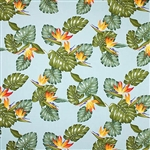 Sky Birds of Paradise Window Valance