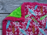 Surfer Girl Baby Blanket