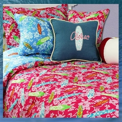 Surfer Girl Comforter Set