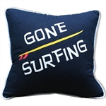 Gone Surfing Pillow