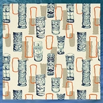 Tiki Man Fabric by the Yard