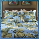 True Blu Birds of Paradise Comforter