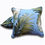 Soft Seas Throw Pillow