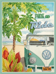 VW Surf Bus Sign