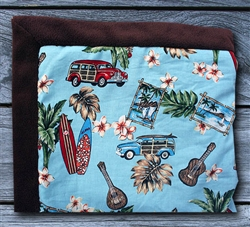 Hawaiian Woody Car Baby Blanket