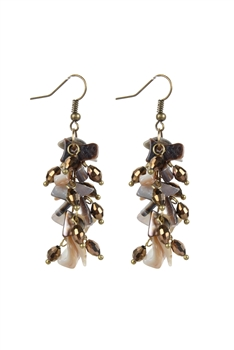 Fashion Gravel Stone Drop Earrings E2100