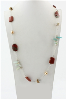 Crystal Long Necklaces N1659