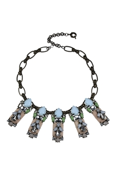 Retro Style Crystal Necklaces N1904