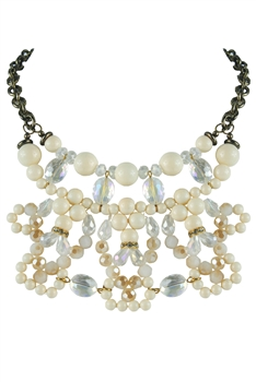 Crystal Bead Necklaces N2081