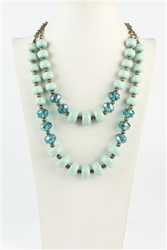 Crystal Necklaces N2178
