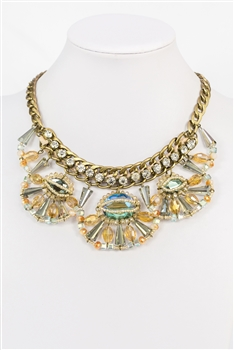 Crystal Pendant Necklace N2283