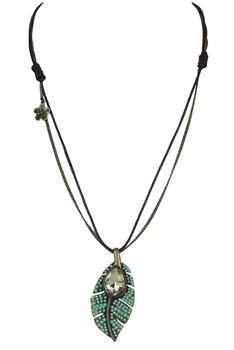 Crystal Metal Necklace N2318