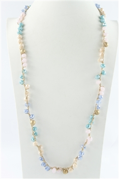 Crystal Long Necklaces N2427
