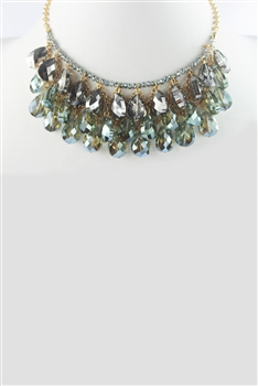 Crystal Choker Necklaces N2470