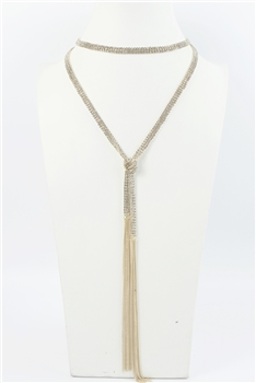 Long Crystal Beaded Necklaces N2747