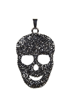 Skull Carved Chain Necklace Pendants P0036