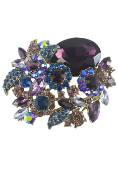 Flower Brooches PA3114