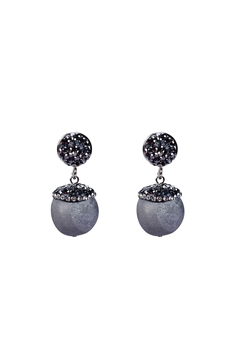 Natural Stone Earrings E2088