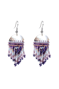 Crystal Bead Drop Earrings E2105