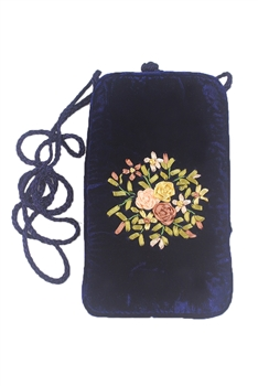 Mobile Phone Flower Handbags HB0586