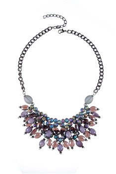 Crystal Stone Necklaces N3059