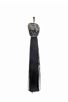 Fashion Jewelry Stone Tassel Pendants P0179