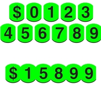 4 Inch Bubble Adhesive Number
