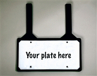 Rubber License Plate Holder